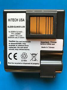Hitech ZEBRA#P1040687 QLN420/ZQ630...*Japan Liion5000mAh37Wh Battery Packs *New