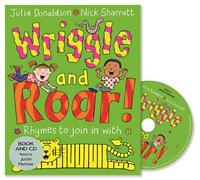 Wriggle and Roar!: Book and CD Pack by Donaldson, Julia, NEW Book, FREE & Fast D