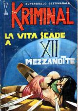 KRIMINAL N. 77 DEL 15.12.1966