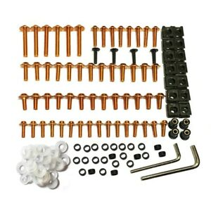 New Motorcycle Complete Fairing Bolts Screws Kit Fit Honda All Models&Years