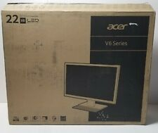 New ACER V226WL BMD/22 LED/1680X1050/VGA DVI Open Box Never Used Monitor HD Gift