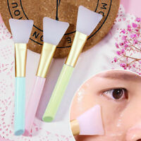 Silicone Facial Face Brush Mud Mixing Skin Care Applicator Beauty Makeup TR