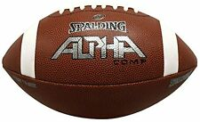 Spalding Alpha Composite Football Brown Youth