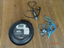 Tevion MD81126 tragbarer CD Player-Fernbedienung- Neuwertig! mit guten Kopfhören