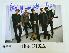 The Fixx Authentic Band Signed 11x14 Photo Autographed, Cy Curnin & More