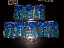 Terrific Tips Pearl Blue Cream Finger Nails New 8 Boxes 800 Wholesale Lot