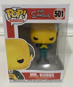 New 2019 Funko Pop The Simpsons Mr Burns #501 Vinyl Figure