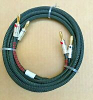 1'ft - 25FT 11-AWG OFC Copper Speaker Wire Hi-Fi Cable Banana/Spade/BFA/Angle