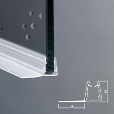 Guarnizione box doccia mt. 2 ricambio per vetro spessore 4/5 mm trasparente F
