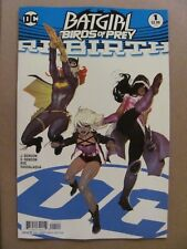 Batgirl and the Birds of Prey Rebirth #1 DC 2016 One Shot Variant 9.6 Near Mint+