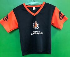 J629/130 NFL Cincinnati Bengals Franklin Jersey-Style Top Youth Medium 10-12