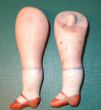 "antique legs 3.27"" for dollhouse doll lastic fixing"