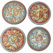 Norwegian Rosemaling Coasters Set of 4, NEW