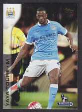 Topps Premier Gold 2015 - Base # 66 Yaya Toure - Manchester City