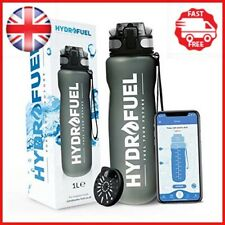 HydroFuel™ Sports Water Bottle 1 Litre - FREE Motivational Hydration Reminder To