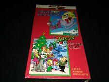 How the Flintstones Saved Christmas / A Jetson Christmas Carol 2 movie vhs new
