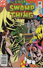 Saga of the Swamp Thing Vol 2 , #7 , 1982, Unread, Free Shipping U.S. and Canada