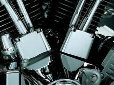 Kuryakyn Chrome Tappet Lifter Block Covers Accent Harley Evo Evolution Big Twin