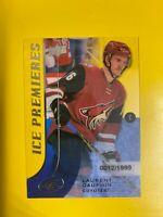 7356 2015-16 Upper Deck Ice #116 Laurent Dauphin ROOKIE #/1999