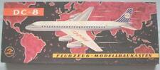 Veb Plasticart KVZ DC-8 Flugzeug Modellbaukasten 1:100