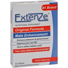 ExtenZe Original Male Enhancement 30ct Tablets Each EXP 2019 + Sexual Health NEW