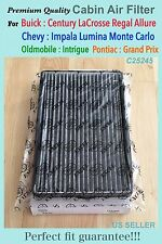 CARBONIZED CABIN AIR FILTER For Impala Impala Limited Monte Carlo Lumina