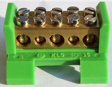 Spelsberg Klemmstein KLS PE 35 und KLS N 35. N + PE Klemme. 50 Stück
