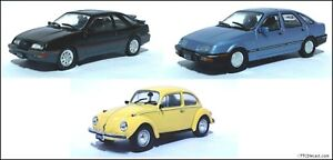 1:43 Scale Diecast Road Cars, Lovely cars, RRP £29.99 on sale now from £9.50 !
