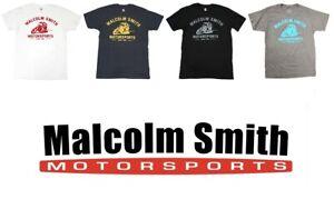 Malcolm Smith Motorsports Legend Signature Series Vintage T Shirt TShirt Tee