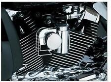 Kuryakyn Chrome Deluxe Wolo Bad Boy Touring Loud Air Horn Kit Harley 7742