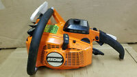 ECHO 550 EVL CHAINSAW 55cc ! HIGH COMPRESSION STARTS 1ST PULL ON PRIME  #65WSS1