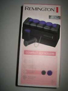 Remington H1016 Compact Ceramic Worldwide Voltage Hair Setter Rollers, READ!