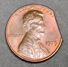 1975 Lincoln Straight Clip Mint Error