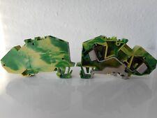 2 - Leiter- Schutzleiterklemmen, grün 783-607 - WAGO -  ( VE 23 Stück) - #7008