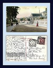 ITALY SAN REMO CORSO CAVALOTTI 1908 CATHERINE OF SIENNA, SARATOGA SPRINGS, NY