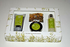 80 Acres McEvoy Ranch Verde Set (Facial Steam, Hand & Body Wash & Lotion,+)-NEW