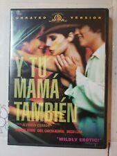 Y Tu Mama Tambien (Dvd, 2002, Unrated) Diego Luna