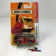 '06 Fire Engine #60 * RED * Matchbox * JC21