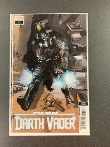 Marvel Comics Star Wars: Darth Vader #7 2nd Print 2021 NM