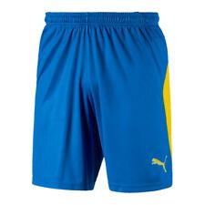 PUMA LIGA Short Blau Gelb F16