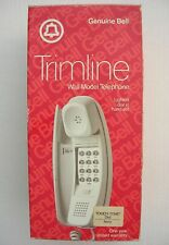 AT&T Bell TRIMLINE Vintage Telephone, ivory color, wall model _ BRAND NEW