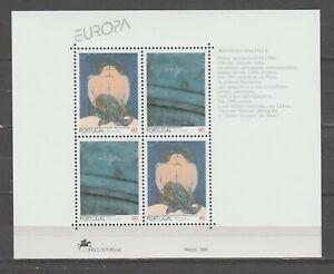 S38099 Açores Europa Cept MNH 1993 S/S