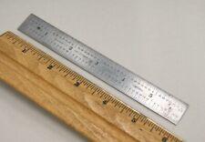 Vintage Starrett 604R, Rule 6 Inch Ruler Scale Machinist Usa, S-7175