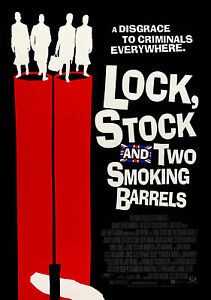 Lock Stock Vintage Movie Giant Poster - A0 A1 A2 A3 A4 Sizes