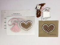 Sandy Jenkins Valentine Cookie Tassel Kit 273 Hand Painted Needlepoint Canvas
