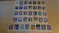 "1988 Toronto Blue Jays Fire Safety Baseball Set of 36 3 1/2 x 5"" Cards - NR-MT"