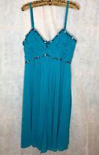 Blue Dress Size 18 Dress Beaded Prom Dress Party Wedding Dress Bridesmaid BNWT