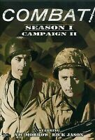 Combat DVD Season 1 CAMPAIGN 2 (4 DVD) Vic Morrow Rick Jason - OVER 12 HOURS