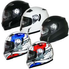 Scooter Full Face Graphic Matt Motorcycle Helmets