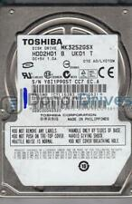 MK3252GSX, A0/LV010M, HDD2H01 B UK01 T, Toshiba 320GB SATA 2.5 Hard Drive
